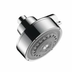 Hansgrohe 39740001 Axor Citterio 3-Jet Shower Head, (3) Full/Pulsating Massage/Soft Spray, 2.5 gpm Maximum, Domestic