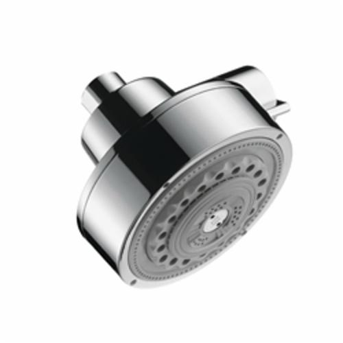 Hansgrohe 39740001 Axor Citterio 3-Jet Shower Head, (3) Full/Pulsating Massage/Soft Spray, 2.5 gpm Maximum, Domestic