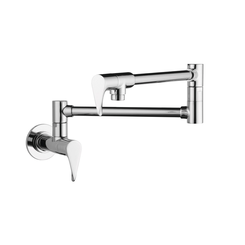Hansgrohe 39834001 Axor Citterio Pot Filler, 2.5 gpm, Chrome Plated, 2 Handles, Residential