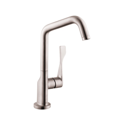 Hansgrohe 39850801 Axor Citterio Kitchen Faucet, 1.5 gpm, 1 Handle, Steel Optik, Residential