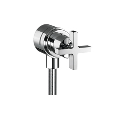 Hansgrohe 39883001 Axor Citterio Fix Fit Wall Outlet, Chrome Plated