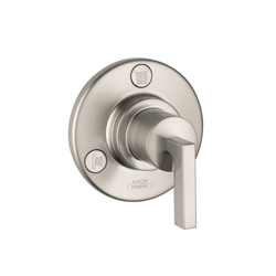Hansgrohe 39931821 Axor Citterio Diverter Trim, Brushed Nickel