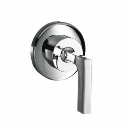 Hansgrohe 39961001 Axor Citterio Volume Control Trim, Chrome Plated