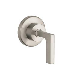 Hansgrohe 39961821 Axor Citterio Volume Control Trim, Brushed Nickel