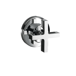 Hansgrohe 39967001 Axor Citterio Volume Control Trim, Chrome Plated