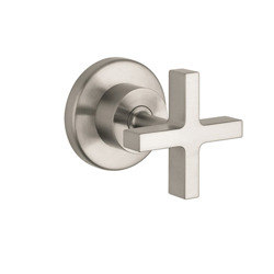 Hansgrohe 39967821 Axor Citterio Volume Control Trim, Brushed Nickel