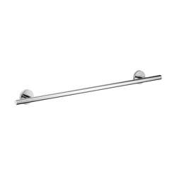 Hansgrohe 40516000 Logis S/E Wall Mount Towel Bar, 24 in L Bar, 2-7/8 in OAD x 2-1/2 in OAH, Brass