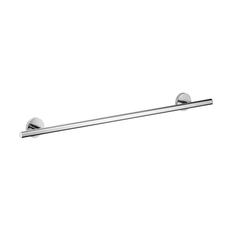 Hansgrohe 40516000 Logis S/E Wall Mount Towel Bar, 24 in L Bar, 2-7/8 in OAD x 2-1/2 in OAH, Brass