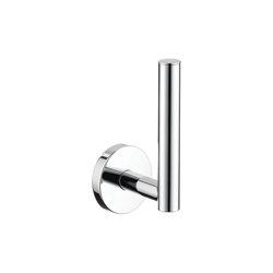 Hansgrohe 40517000 Logis S/E Spare Toilet Paper Holder, 6 in H, Brass, Chrome Plated