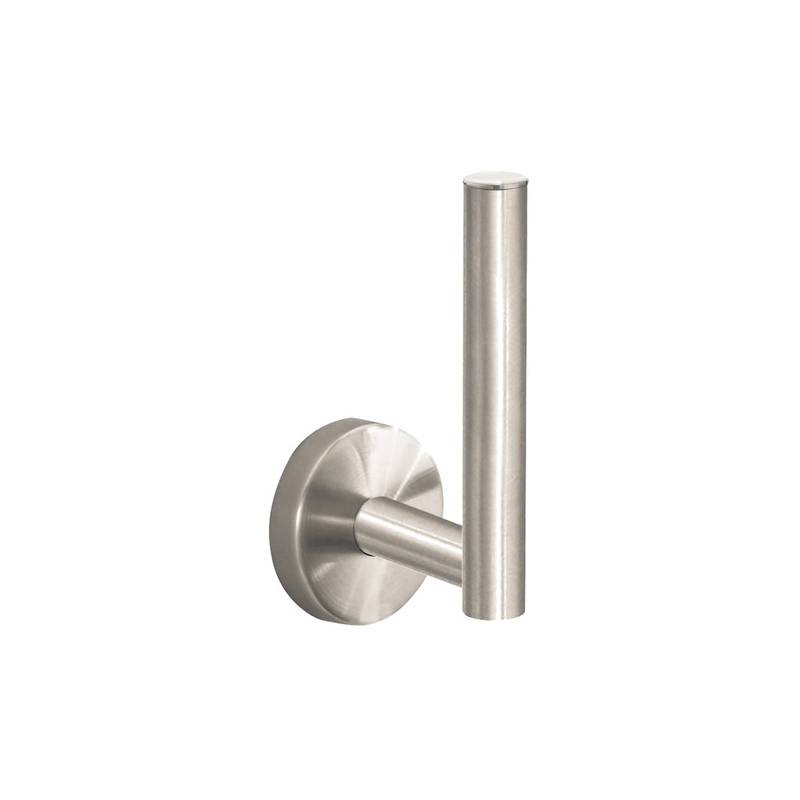 Hansgrohe 40517820 Logis S/E Spare Toilet Paper Holder, 6 in H, Brass, Brushed Nickel