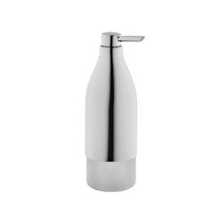 Hansgrohe 40819000 Axor Starck Soap/Lotion Dispenser, 16 oz, Wall Mount, Solid Brass, Chrome Plated