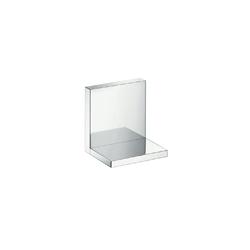 Hansgrohe 40872000 Axor Starck Shower Shelf, 4-3/4 in OAL x 4 in OAD x 4-3/4 in OAH, Solid Brass, Import