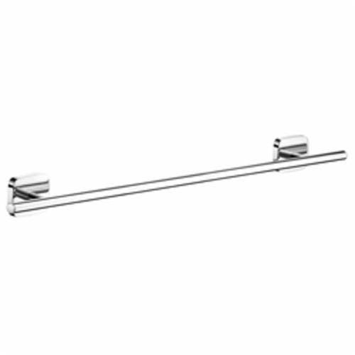 Hansgrohe 41506000 PuraVida Towel Bar, 24 in L Bar, 2-7/8 in OAD x 3-1/8 in OAH, Brass