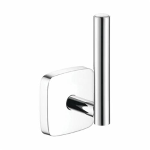 Hansgrohe 41518000 PuraVida Spare Roll Holder, 6 in H, Brass, Chrome Plated, Import