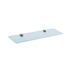 Hansgrohe 41550000 Axor Citterio Shelf, 24-3/4 in OAL x 5-3/8 in OAD x 1-3/8 in OAH, Crystal Glass