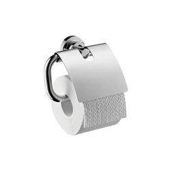 Hansgrohe 41738000 Axor Citterio Toilet Paper Holder, Solid Brass, Chrome Plated