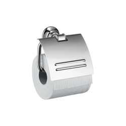 Hansgrohe 42036000 Axor Montreux Toilet Paper Holder, Solid Brass, Chrome Plated
