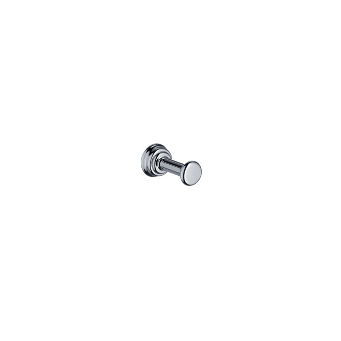 Hansgrohe 42137820 Axor Montreux Hook, 1 Hook, 38 mm OAD x 21 mm OAH, Solid Brass