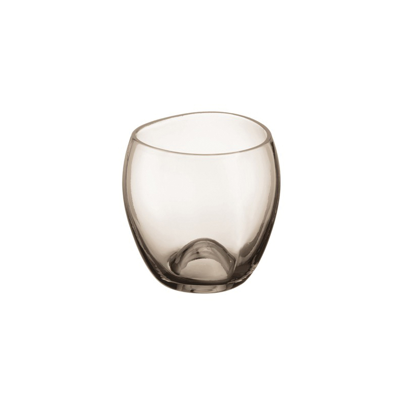 Hansgrohe 42234000 Axor Massaud Freestanding Tumbler, 3-1/2 in H, Crystal Glass, Chrome Plated, Import