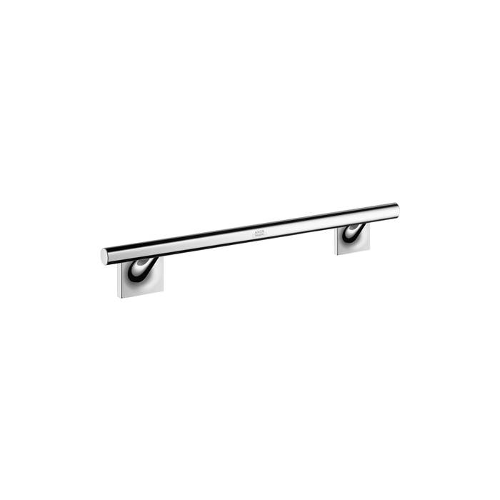 Hansgrohe 42730000 Axor Starck Organic Wall Mount Towel Bar, 12 in L Bar, 3 in OAD x 2-3/4 in OAH, Solid Brass
