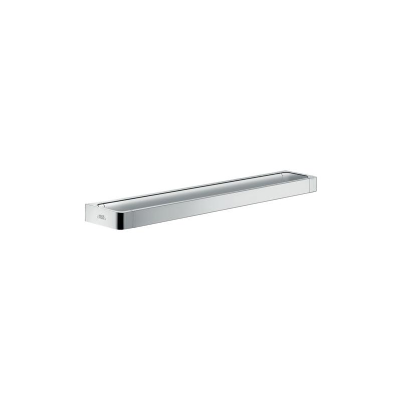 Hansgrohe 42832000 695 Axor Universal EU Version Wall Mount Medium Towel Bar/Rail, 3-1/8 in OAD x 1-1/4 in OAH, Metal