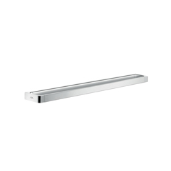 Hansgrohe 42833000 800 Axor Universal EU Version Wall Mount Long Towel Bar/Rail, 3-1/8 in OAD x 1-1/4 in OAH, Metal, Import