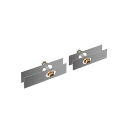 Hansgrohe 42841000 Axor Universal EU Version Universal Mounting Set, Metal, Chrome Plated