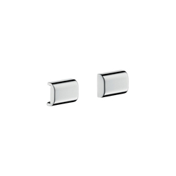 Hansgrohe 42871000 Axor Universal EU Version Rail Back Cover, Metal, Chrome Plated, Import