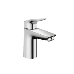 Hansgrohe 71104001 Logis 100 Bathroom Faucet, 1 gpm, 3-5/8 in H Spout, 1 Handle, 1 Faucet Hole, Chrome Plated, Domestic