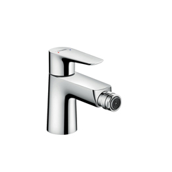 Hansgrohe 71720001 Talis E Bidet Faucet, 1.5 gpm, 3-1/8 in H Spout, 1 Handle, Pop-Up Drain, Chrome Plated