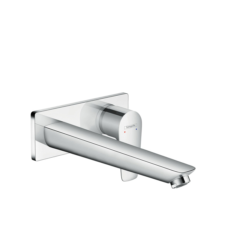 Hansgrohe 71734001 Talis E Bathroom Faucet Trim Without Pop-Up Waste Set, 1.2 gpm, 1 Handle, Chrome Plated
