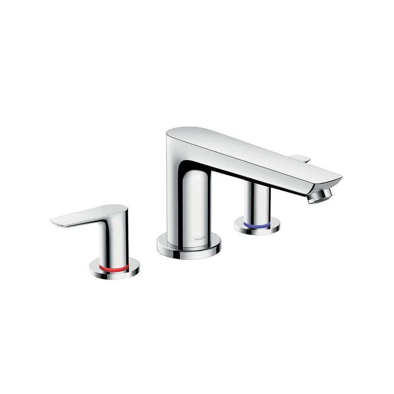 Hansgrohe 71747001 Talis E Roman Tub Set Trim, 5.8 gpm, Chrome Plated, 2 Handles, Hand Shower Yes/No: No
