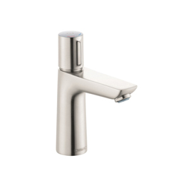 Hansgrohe 71750821 Talis E 110 Basin Mixer, 1.2 gpm, 4-1/8 in H Spout, 1 Handle, Pop-Up Drain, 1 Faucet Hole, Brushed Nickel