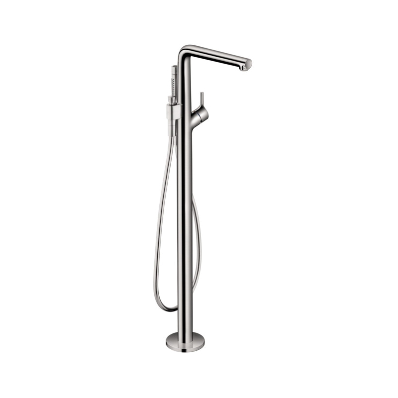 Hansgrohe 72412001 Talis S Free Standing Tub Filler Trim, 5.5 gpm, Chrome Plated, 1 Handles, Hand Shower Yes/No: Yes
