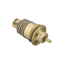 Hansgrohe 96633000 BTC Thermostatic Cartridge, For Use With: Axor iBox Trim and Axor EcoMax Trim, Metal, Chrome Plated