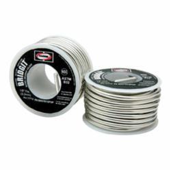 Harris® Bridgit® BRGT61 Solder Wire, 1/8 in, 460 to 630 deg F Melting, 1 lb Spool