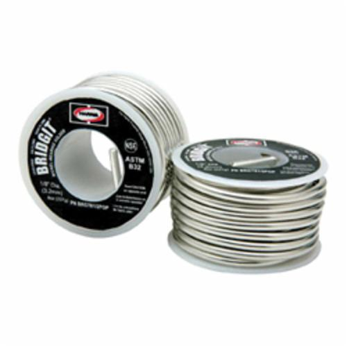 Harris® Bridgit® BRGT61 Solder Wire, 1/8 in, 460 to 630 deg F Melting, 1 lb Spool
