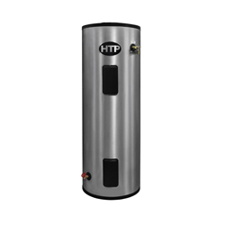 HTP EVC080C2X045 Everlast Light Duty Electric Water Heater, 15355 Btu/hr Heating, 80 gal Tank, 240 VAC, 4500 W, 1 ph, 120 to 200 deg F, Tall