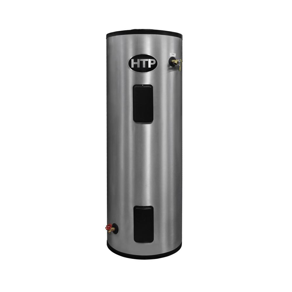 HTP EVERLAST Electric Water Heater, 15355 Btu/hr Heating, 52 gal Tank, 240 V, 4500 W