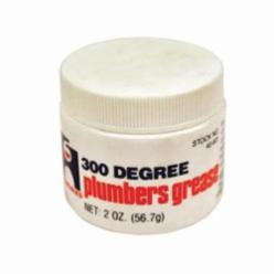 Hercules® 40601 Plumber's Grease, 2 oz Can, Liquid, Amber, -20 to 300 deg F