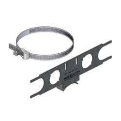 Holdrite® PEXRITE® 110-R Bracket, 1.38 in Hole, 25 lb, Cold Rolled Steel, Galvanized
