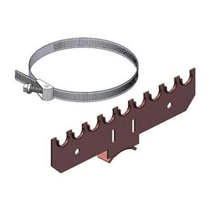 Holdrite® 110-S-1/2 Bracket, 25 lb, Cold Rolled Steel, Copper-Bonded™
