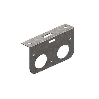 Holdrite® 121-D Single Line Support Bracket, 25 lb, Cold Rolled Steel, Galvanized, Domestic