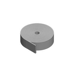 Holdrite® SILENCER™ 272-2 Liner Felt With Pressure-Sensitive Adhesive, 1/4 in Thk, Polyester, White