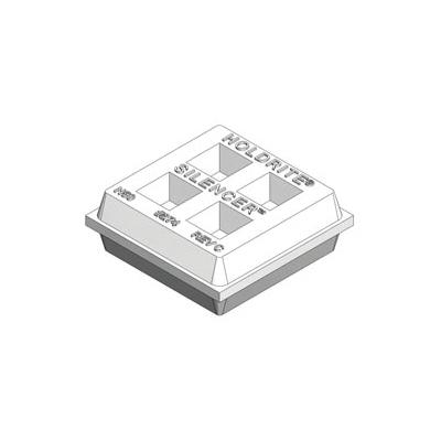 Holdrite® SILENCER™ 274 Acoustical Isolation Waffle Pad, Neoprene, Domestic