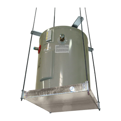 Holdrite® QUICKSTAND™ 40-SWHP Suspended Water Heater Platform, 21-1/4 in L x 21-1/4 in W x 2-1/2 in H, For Use With: Up to 20 gal, 375 lb Water Heater, Domestic