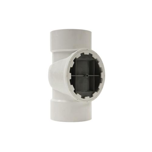 Holdrite® TESTRITE® TRPVC6A DWV Test/Cleanout Tee, 6 in Cleanout, PVC, Domestic