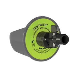 Holdrite® TESTRITE® TRW4V Test Wedge With Valve, 4 in, Nylon
