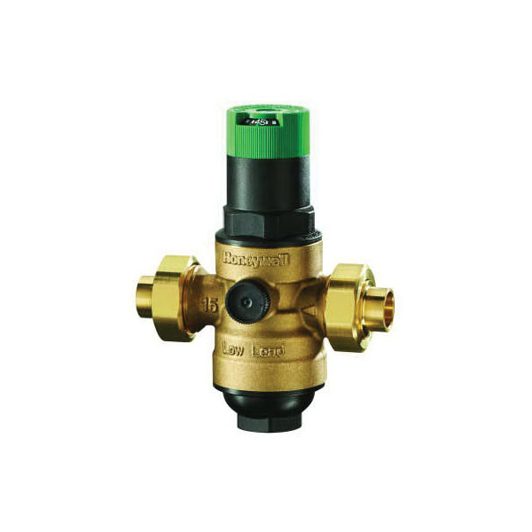 Honeywell DS06-102-SUT-LF/U Pressure Regulating Valve, 1 in, FNPT, 250 psi, Bronze Body, Import