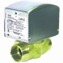 Honeywell V8043E5079/U 2-Way Low Voltage Zone Valve, 1 in, C, 300 psi, 8 Cv, 24 VAC, Import